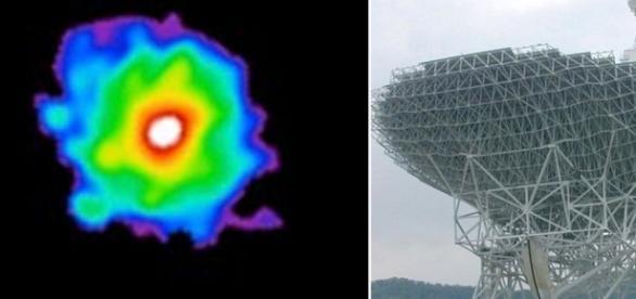 Do telescópio astronomos observam a estrurutura