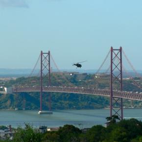 A ponte 25 de Abril tem sido vigiada.
