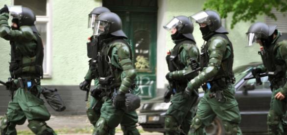 Forţele de ordine ale poliţiei din Germania