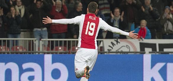 Arkadiusz Milik jest piłkarzem Ajaksu Amsterdam