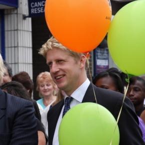 Business Minister Jo Johnson (right)