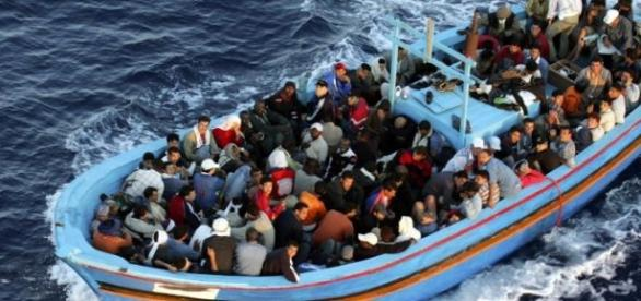 Refugees from North Africa, Lampedusa