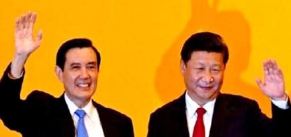 China and Taiwan have an historic meeting.