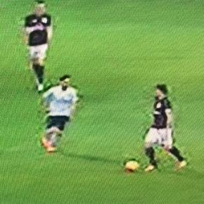 Atalanta pressing blocked Milan's play source