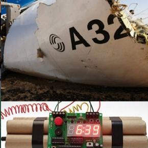 Bombă-este ipoteza probabilă a avionului prăbuşit