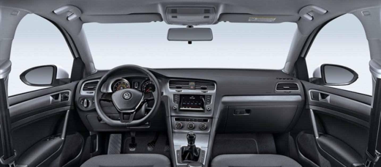 Volkswagen lan a perua golf variant com c mbio manual de for Interior golf variant