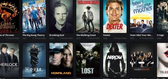 Netflix está em vários países.