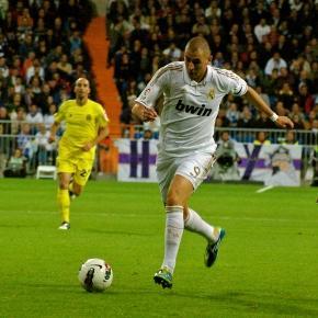 Benzema está com o pé quente no Real Madrid