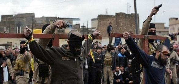 Executări, lapidări, opera grupări teroriste
