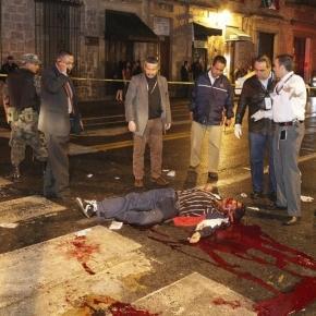 Ejecutado en Michoacan, imagen http://www.vice.com
