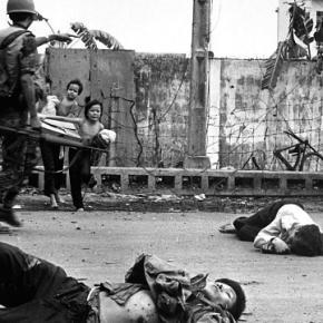Kto mógł ten uciekał przed Vietcongiem.