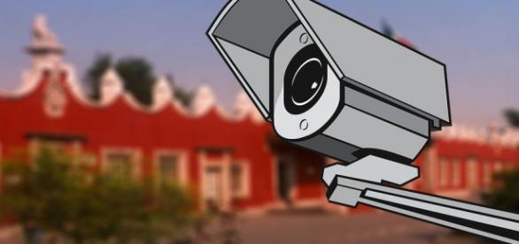 La oficinas de la Deleg. Coyoacán video-vigiladas