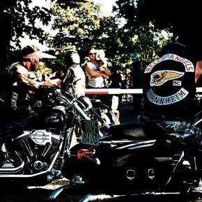 Das Hells Angels Chapter in Mannheim
