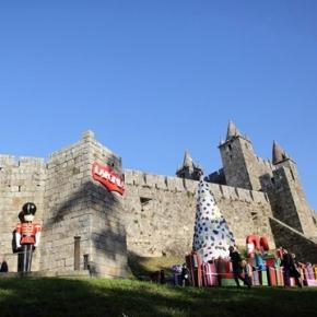 Acidente ocorreu no interior do castelo