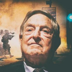 George Soros w świetle swojego majestatu.
