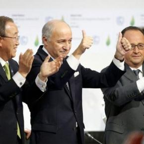 """Historic"" Paris climate deal adopted"