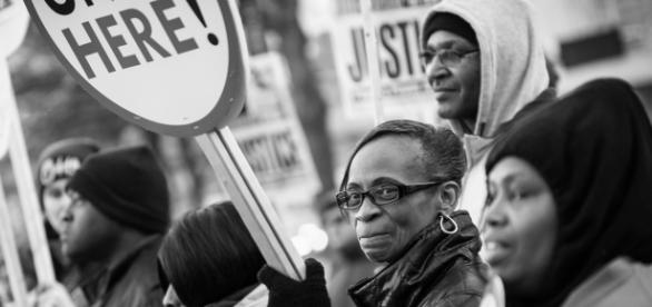 Black Lives Matter protesters (flickr)