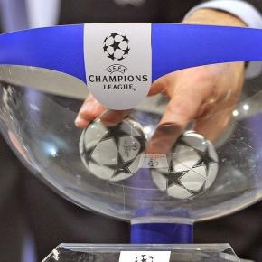Sorteio da Liga dos Campeões, oitavos-de-final.