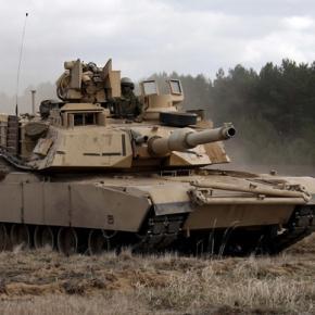 Tancuri americane aduse in Romania