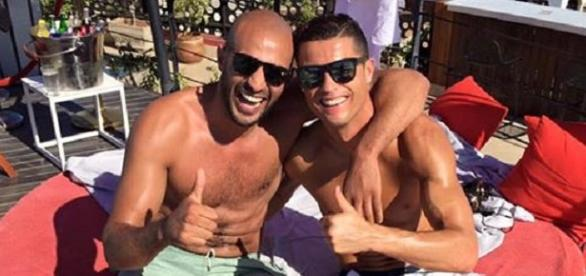 Cristiano Ronaldo und Badr Hari
