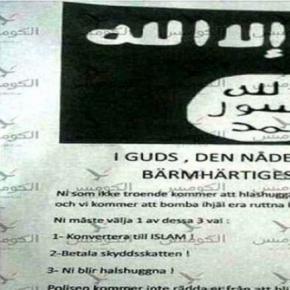 Suedia amenințată de Statul Islamic