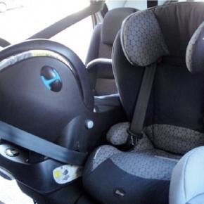A tradicional cadeira para automóvel.