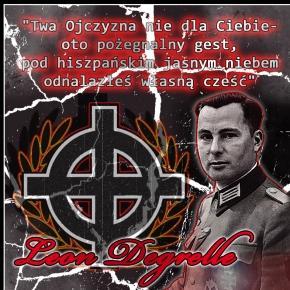 Degrelle: twórca kato-faszyzmu w mundurze esesmana