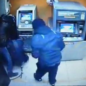 Hoți de bancomate români lovesc în Anglia