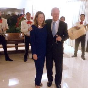Despiden al embajador de Australia en México