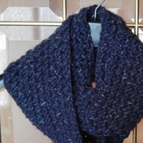 Aprende a tejer a crochet una bufanda infinita