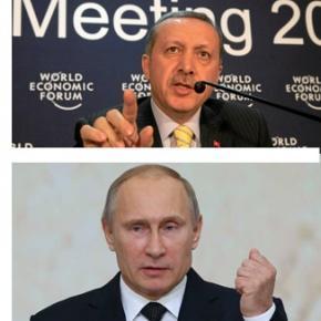 Dispută la vârf - Vladimir Putin vs Recep Erdogan