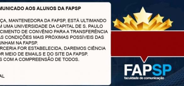 FAPSP foi fundada em 2009 e tinha nota 4 no MEC