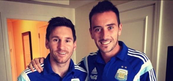 Lionel Messi mit Pep Guardiola nach England?