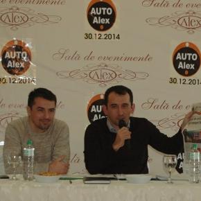 Alin şi Adrian Torma în conferinţă de presă