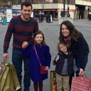 Familia Moş Crăciun şi gestul lor impresionant