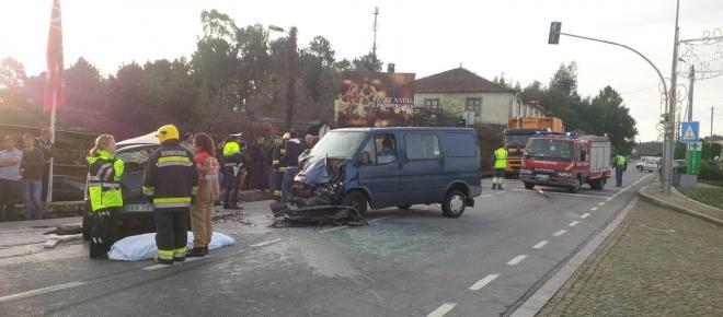 Manhã negra nas estradas do Minho com duas vítimas mortais em Esposende e Braga