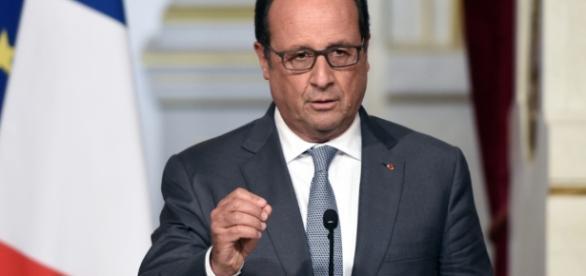 Francois Hollande - president de la France