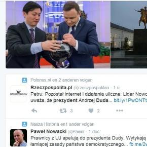 Co zrobi prezydent Andrzej Duda - Twitter