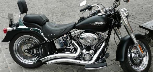 Symbolbild: Eine Harley Davidson