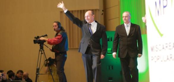 Traian Băsescu, președintele partidului MP