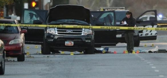 Krwawy zamach w San Bernardino.
