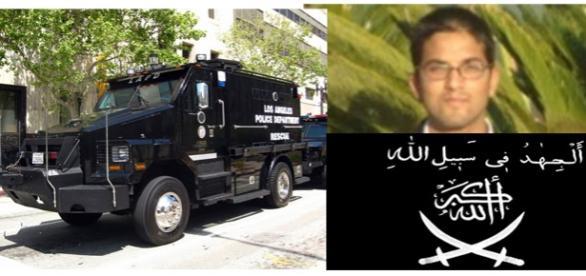 Suspectul de terorism ucis în California de SWAT