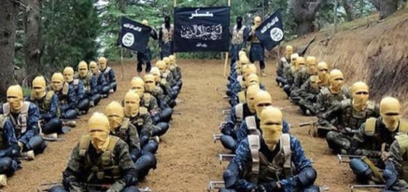 Luptători ai Statului Islamic din Afganistan