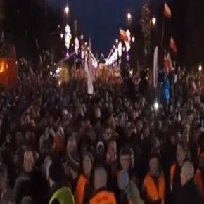 Marsz Niepodległości i Solidarności, 2014 (screen)