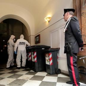 Poliţia şi carabinierii, imediat după crimă