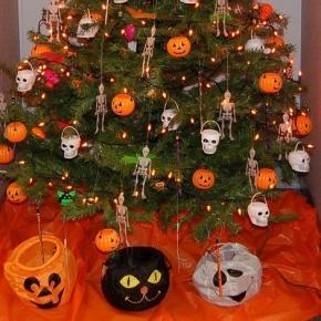 Halloween navideño, ¡el colmo!