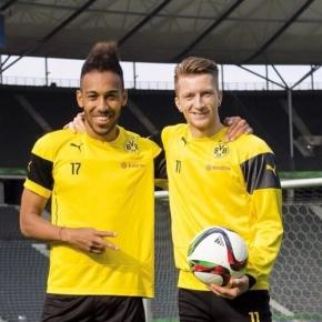 Marco Reus und Aubameyang zu Jürgen Klopp?