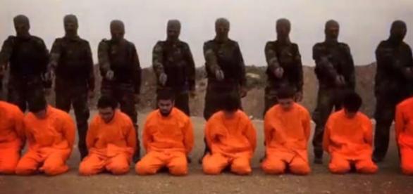 Execuţie cu final neaşteptat pentru militanţi ISIS