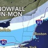 The East Coast Weather Map