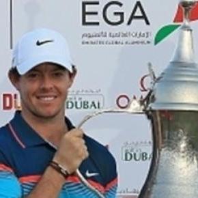 Rory McIlroy won the Dubai Desert Classic